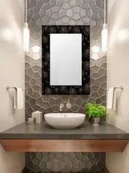 Polished Glass Antique Wall Mirror, For Bathroom, Size: 24x18 Inch