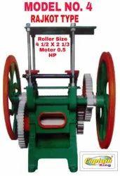 Sugarcane Crusher Machine Rajkot Type Model No. 4