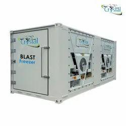 Crystal Blast Freezer 2000 Kg/day