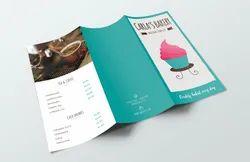 170 - 300 Gsm Three Fold Brochure