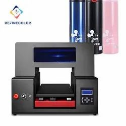 High Resolution Digital Flatbed Automatic UV Led Inkjet Printer Size A3 A2 UV Printer