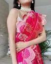 Present Kanchipuram Silk Designer Silk Saree