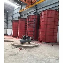 Chemical Storage Semi-Automatic Insulated Mixing Tank, For Construction, 350 Bar
