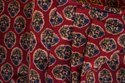 Ajrakh print cotton fabric