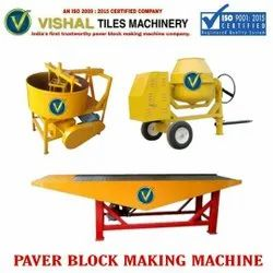 Concrete block Vibrator machine