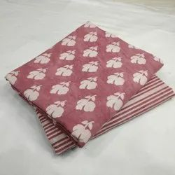 exclusive hand block printed cotton fabric combo