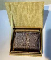 Male Fancy Genuine Leather Wallet