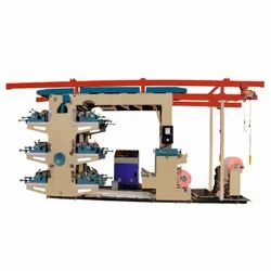 Flexographic Woven Sack Printing Machine - 6 Color
