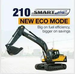 Hyundai Hydraulic R210-SmartPlus Excavator