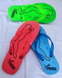 Blue Mens PVC Slipper