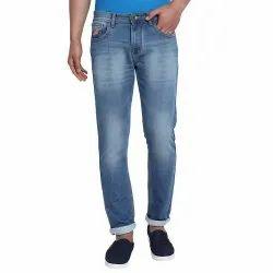 Casual Wear Zipper Mens Slim Fit Denim Jeans
