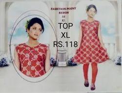 Designer Ladies Short Kurtis