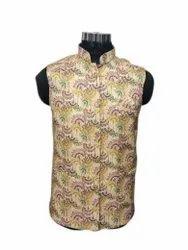 Jainica Garments Cotton Mens Stylish Printed Koti