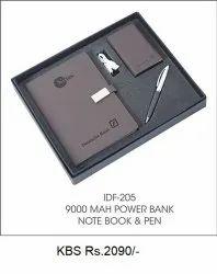 Power Bank Notebook & Pen