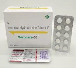 Sertraline Hydrochloride 50 mg Tablets ( SEROCARE 50 )