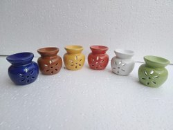 Ceramic Aroma Oil Lamp, Model Name/number: COB-991