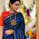 Present Soft Lichi Silk Saree Beautiful Rich Pallu & Jacquard Work