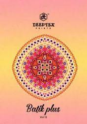 Unstitched A-line Deeptex Print Launched Batik Plus Vol 12, Size: Un_stitc