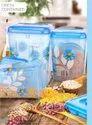 Nova Square Plastic Printed Food Container