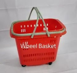 Castor Shopping Basket