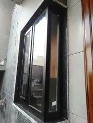 Modern Black L Corner Aluminium Window, For Home, Size/Dimension: 4 X 3 Feet