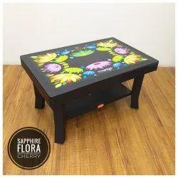 Mango Chairs Sapphire Flora Plastic Table