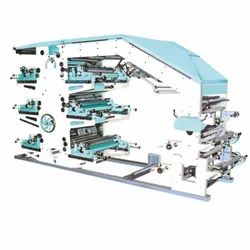 Flexographic Printing Machine - 8 Colors