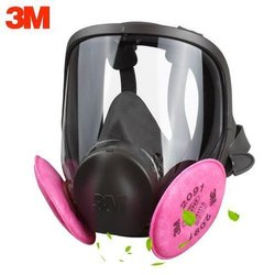 3m 6800 Vision Full Face Mask, Acid Gas