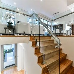Toughened Glass Railing, For Home