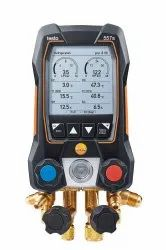 Testo 550s- Smart digital manifold with Bluetooth and 2-way valve block