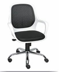 Executive Medium Back Chair - Queen White DLX