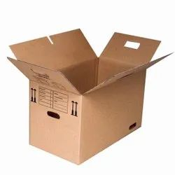 Brown Rectangular 5 Ply Carton Box, Size(LXWXH)(Inches): 20 X 12 X 18 Inch