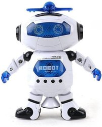 White Dancing Robot Toy