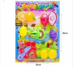 Plastic Fruit Slice Set, Child Age Group: 3 Years