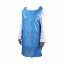 Blue Plain Premium Apron, For HOSPITAL, Size: FREE