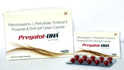 Methylcobalamin 1500mcg, L Methylfolate800mcg, Pyridoxal-5 Phosphate 500mcg, DHA 40 0mg