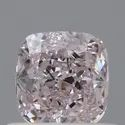Cushion 0.56ct Light Pink SI1 GIA Certified Natural Fancy Diamond