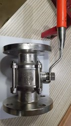 Stainless Steel Flanged Valve