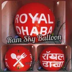 Royal Dhaba Advertising Balloon