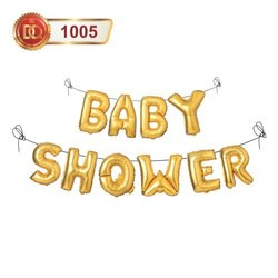 Paper Golden Baby Shower Banner, Size/Dimension: H-8 Inch