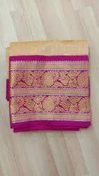 Casual Wear Silk Designer Border Saree