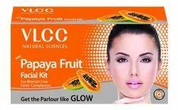 Natural VLCC Papaya Fruit Facial Kit 60g(Free Worldwide Shipping), For Face