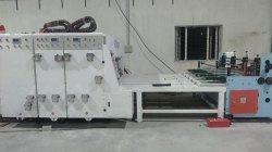 Auto Chain Feeing Flexo Printer Slotter and Die Cutter  Machine