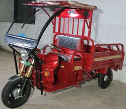 Deltic-Vayu E-Loader, Maximum Run Per Charge: 80-100 km, Loading Capacity: Upto 500 kg