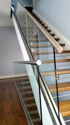 5 Feet Stainless Steel Stair Railing, Mounting Type: Floor