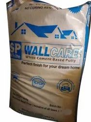 Wall Care White Cement Based Wall Putty