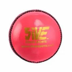 County Pink Cricket Ball