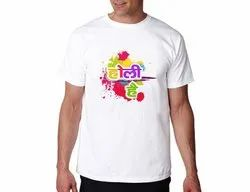 Happy Holi T Shirt - Printed I Customized I Special Offer For 10 pieces