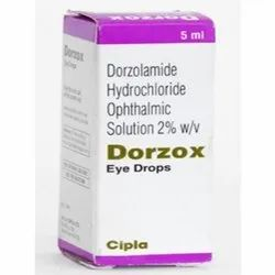 Dorzox Eye Drops ( Dorzolamide Hydrochloride Ophthalmic Solution )