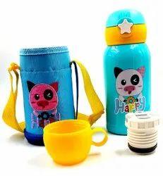Cartoon Hot Cool Water Bottle, AAOO, For Home,School